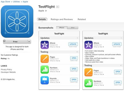 testflight_ios_8_app