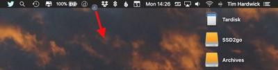 remove menu bar icon
