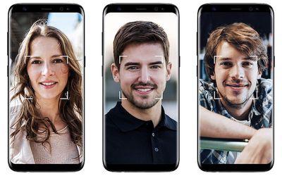 galaxy s8 facial recognition