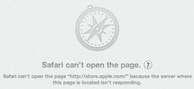 safari cant open page