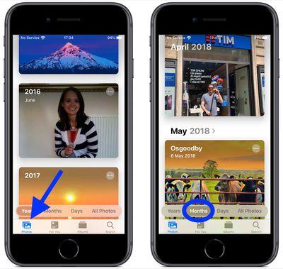 new photos app in iOS 13