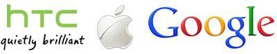 htc apple google logos