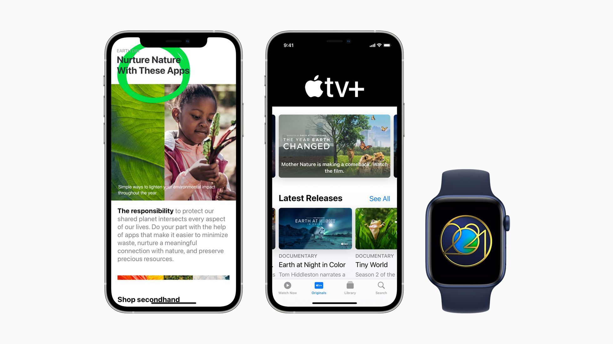 photo of Apple Celebrates Earth Day 2021 With Specially Curated Content in Apple TV+, App Store, and More image
