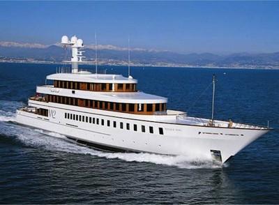 wedge too starck yacht
