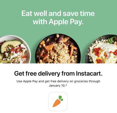 instacart apple pay