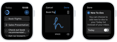 things 3 apple watch new features