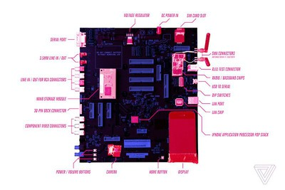 original iphone development board labeled
