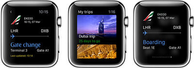 Emirates Apple Watch