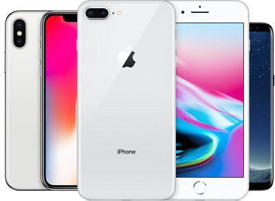 iphone 8 x galaxy s8