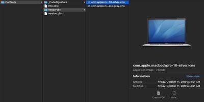 macbookpro 161 folder