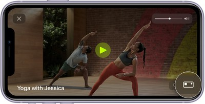 ios14 iphone 11 fitness fitness plus workout metrics editor callout