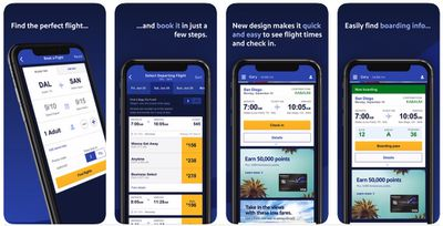 southwest airlines app