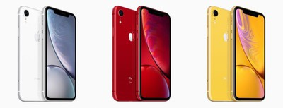 iPhone XR colors 2