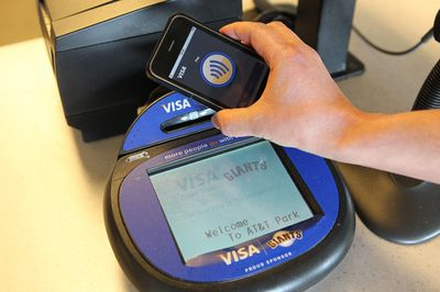 iphone visa mobile payment
