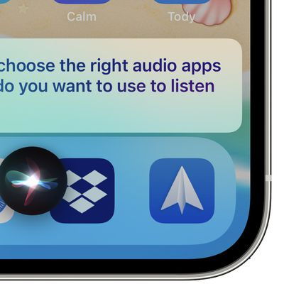 siri choose audio apps