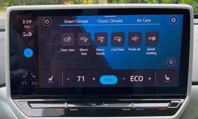 2021 vw id4 smart climate