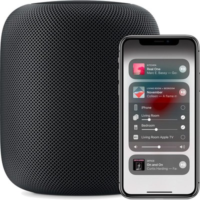 homepod control center