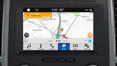 Waze Launches On Ford S Sync 3 Infotainment Systems Through Ios