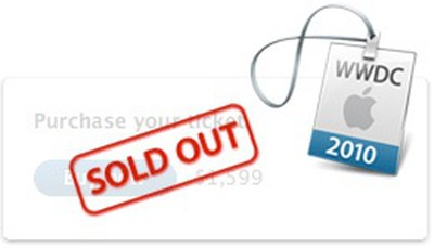 091907 wwdc2010 sold out