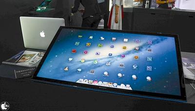 Sharp 4K Touchscreen Monitor