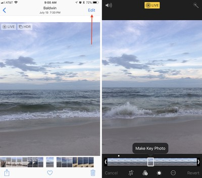 how to edit live photo 1