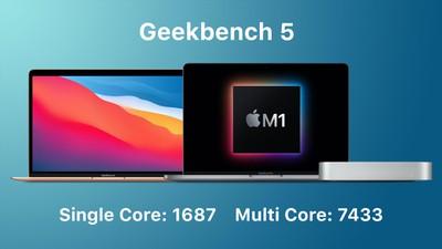 macbook air apple silicon geekbench