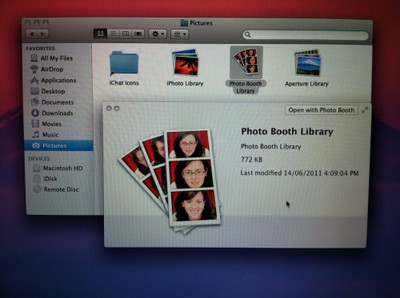 Photo Booth Library