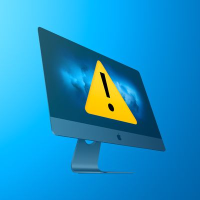 iMac Pro Alert Feature