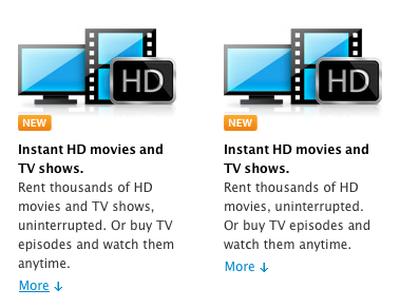 apple tv rentals