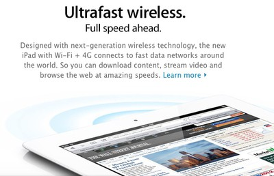 ipad australia ultrafast wireless