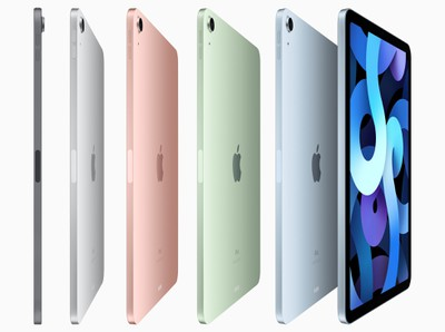ipad air 4 colors