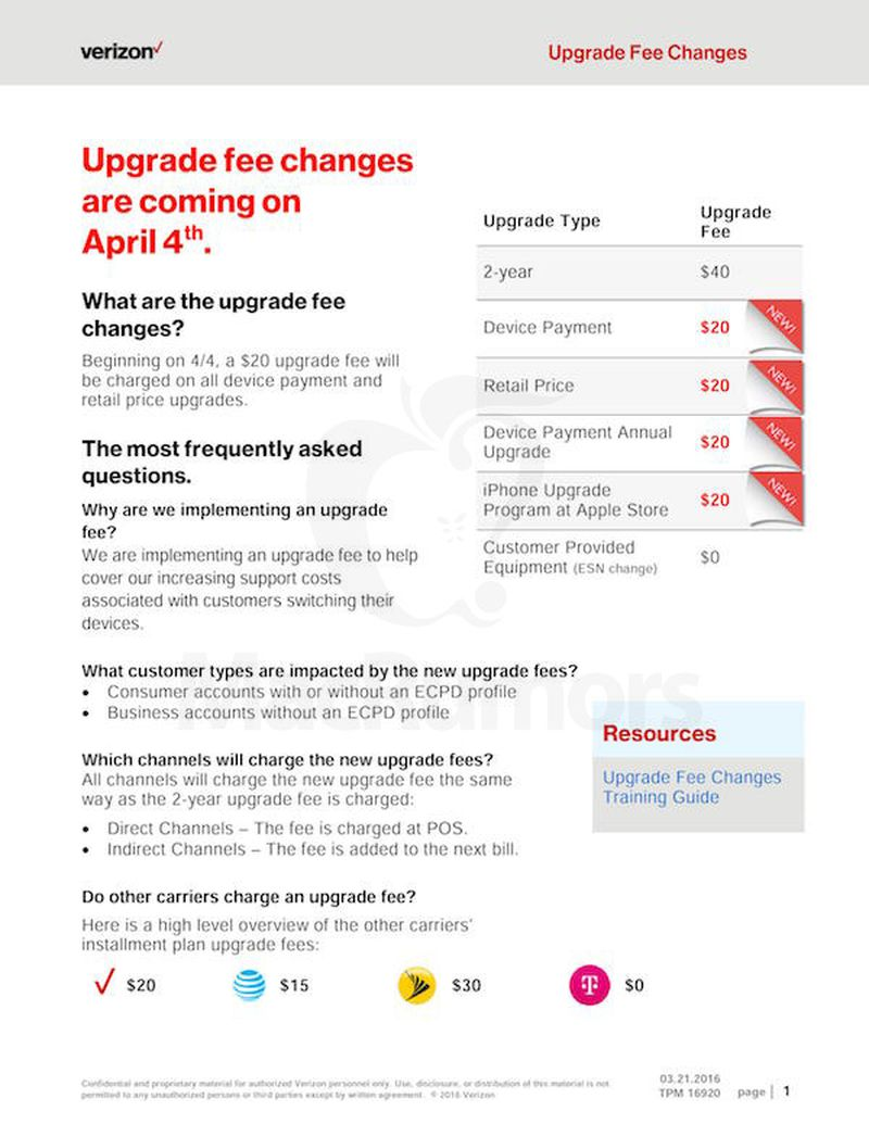 Verizon-Upgrade-Fees
