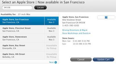 apple in store pickup sf1