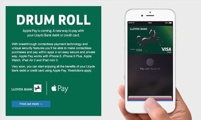 LloydsBankApplePay