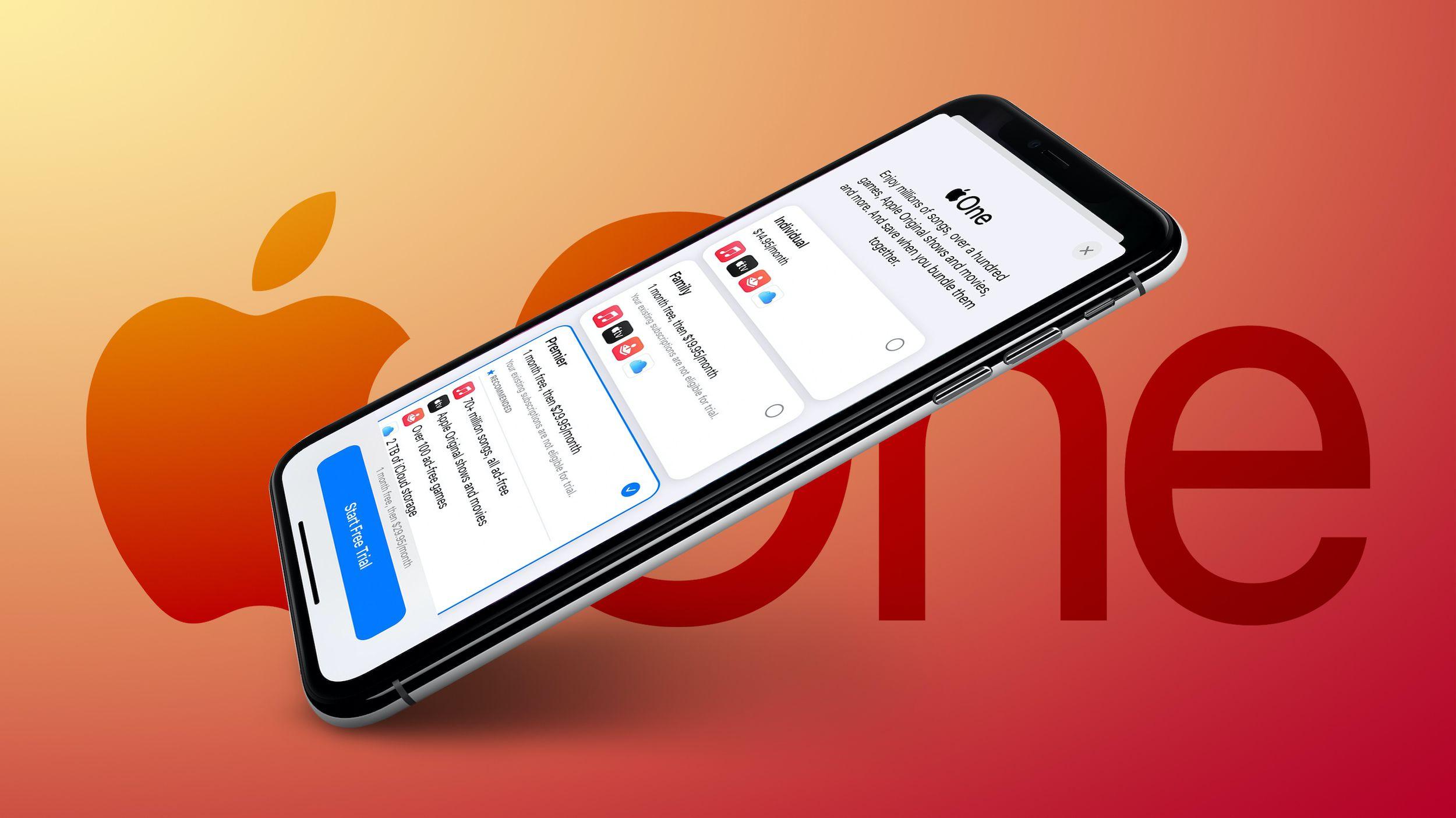 Apple One is Now Available: Save Money by Bundling Apple Music iCloud Storage Apple TV+ Apple Arcade… – MacRumors