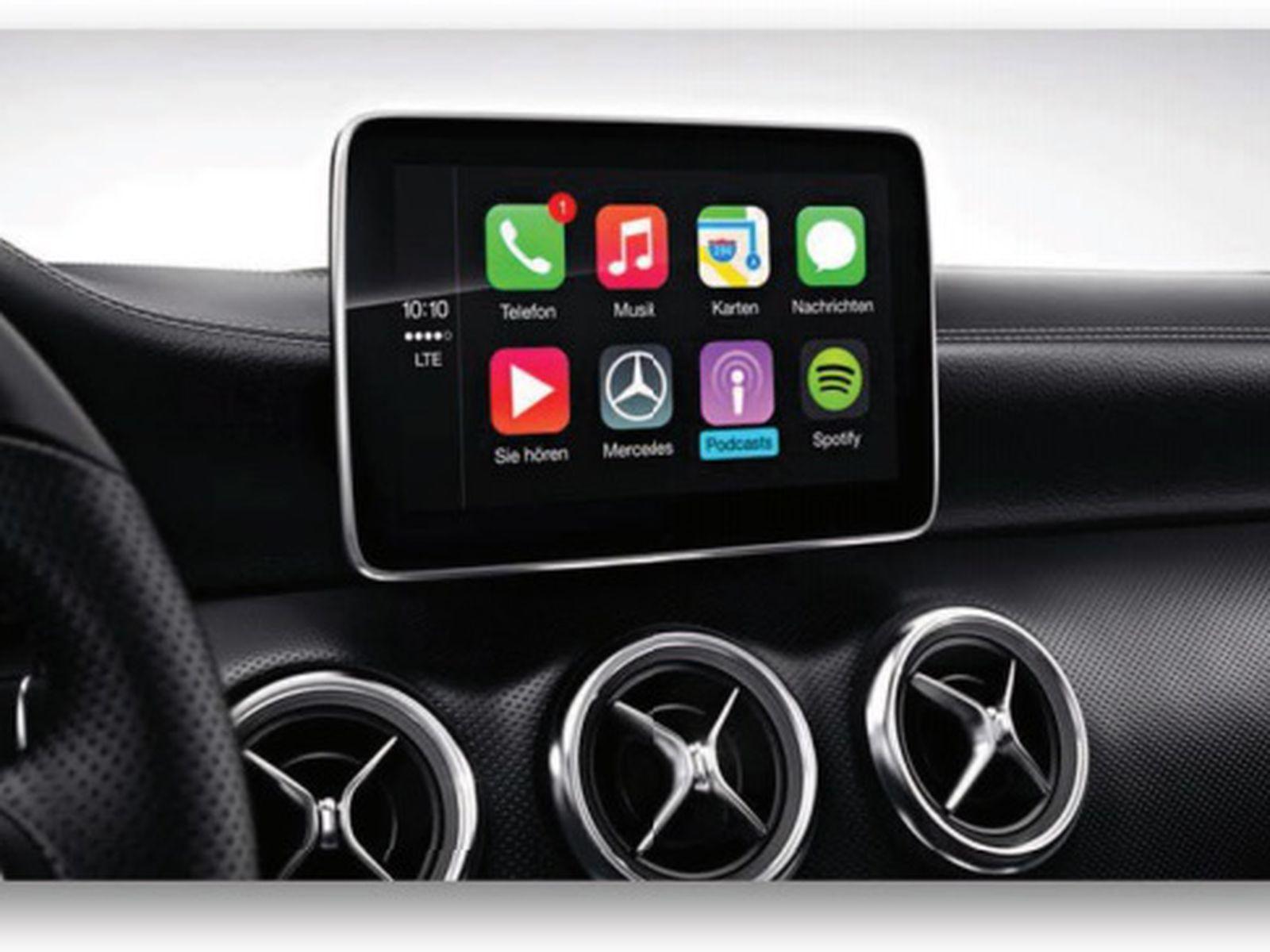 Mercedes Benz Shares Full Lineup Of 2016 U S Carplay Vehicles Macrumors
