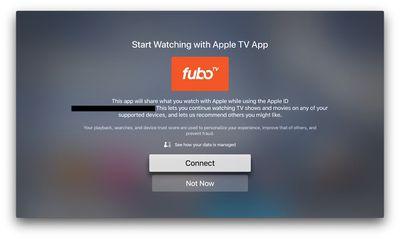 fubotv app splash