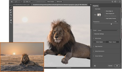 Photoshop's new AI features include neural filters and sky replacement