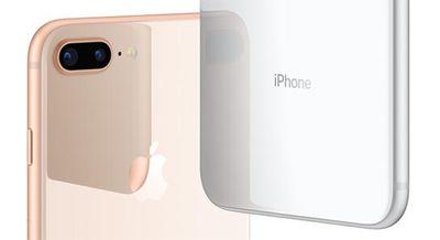 iphone 8 plus dual lens gold silver