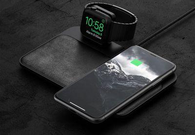 nomad apple watch base station 2