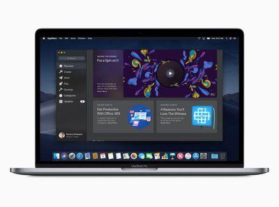 macOS preview Mac App Store Discover screen 06042018
