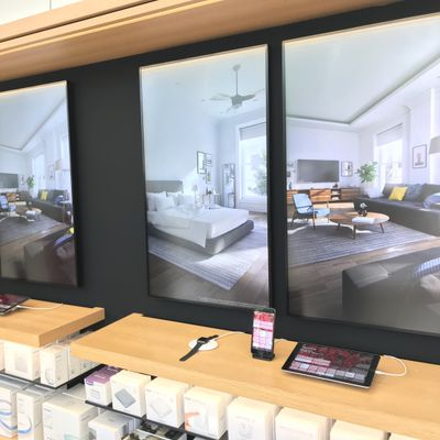 homekit interactive apple store