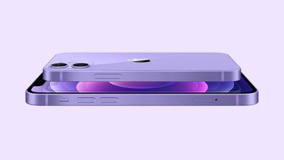 purple iphone 12 and 12 mini
