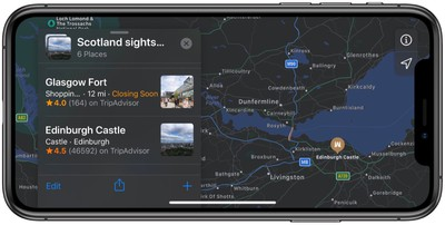apple maps how to create collections