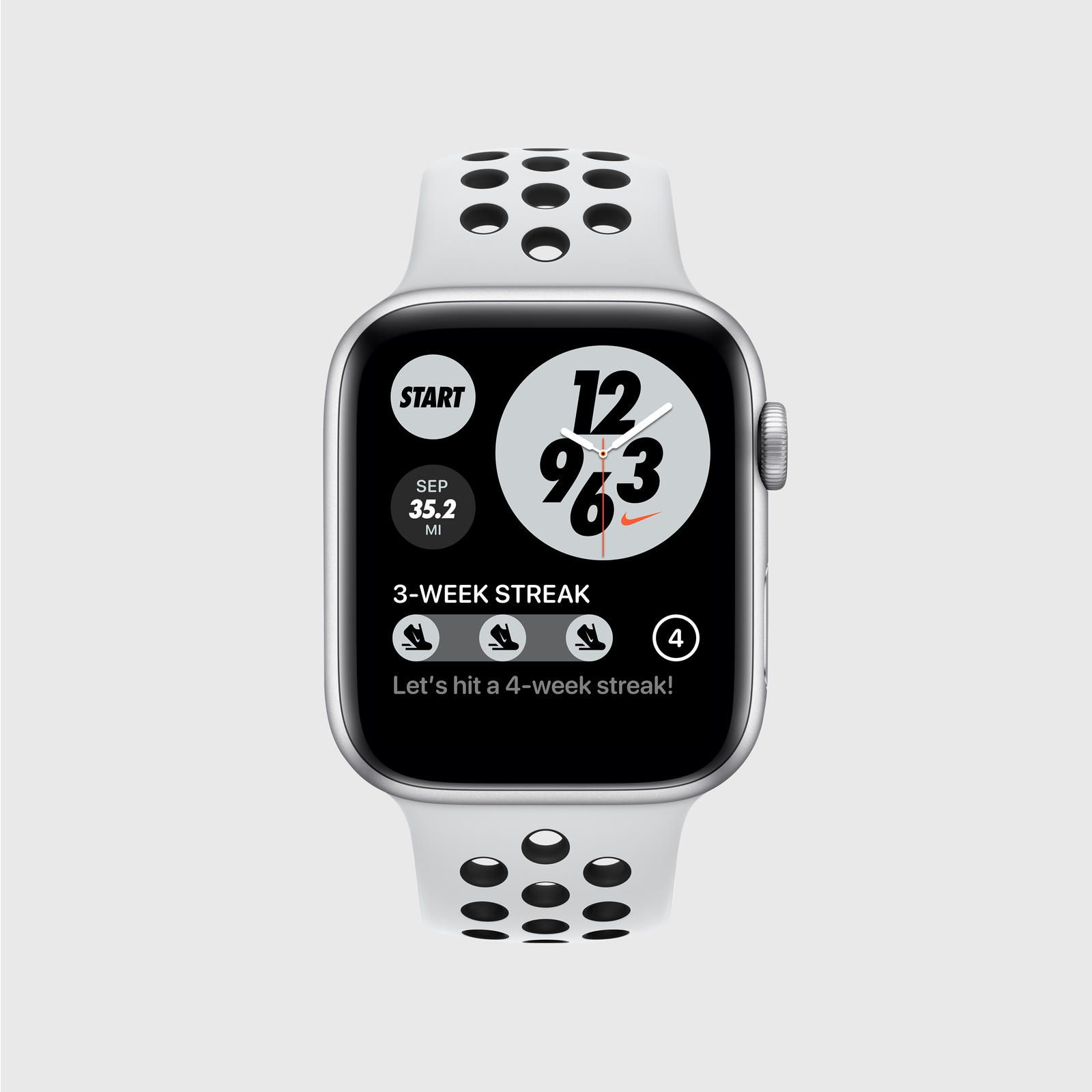 transferencia de dinero Avanzar estilo  Nike Run Club Update Brings a New Modular Watch Face, 'Twilight Mode,' and  'Streaks' - MacRumors
