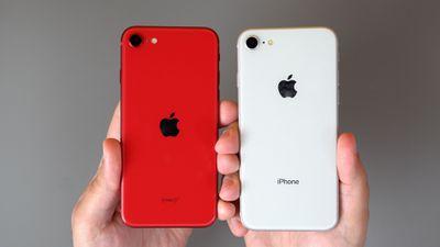 iphoneseandiphone8