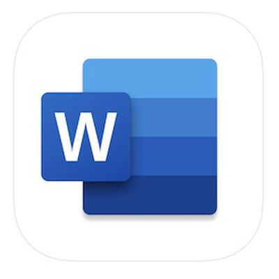 microsoft word app icon 2020