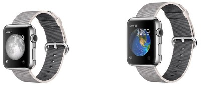 Apple Watch pearl woven nylon