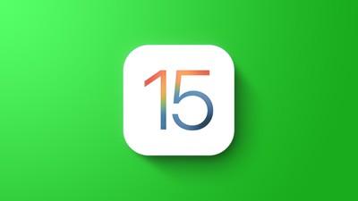 Το γενικό χαρακτηριστικό του iOS 15 είναι πράσινο