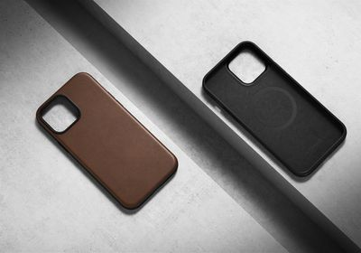 nomad new leather cases